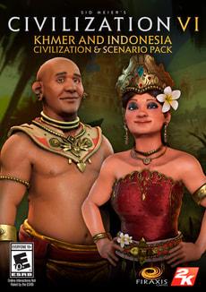 PC/Mac - Sid Meier's Civilization VI Khmer and Indonesia Civilization & Scenario Pack