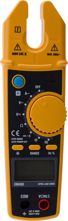 Appareil de mesure avec pince digital