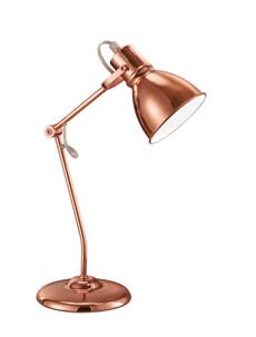 Lampe de table Jasper, cuivre
