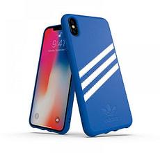 Moulded Case Canvas Suede blau