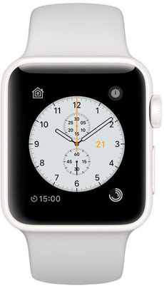 Watch Edition GPS/LTE 38mm  white/pebble