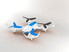 Drohne Gegenseitiges Kämpfen