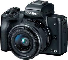 EOS M50 + EF-M 15-45mm schwarz