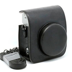 Instax Mini 70 Leather Case Black