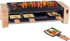 Raclette & Pizza Gerät Wood