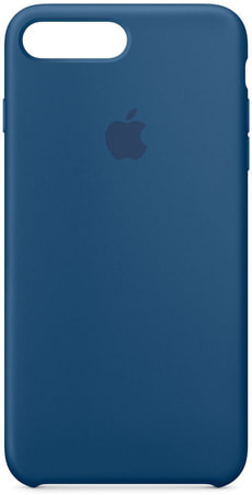 iPhone 7 Plus Coque en silicone - Bleu Atlantique