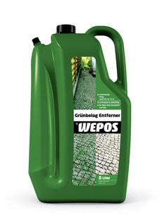 WEPOS Grünbelag Entferner