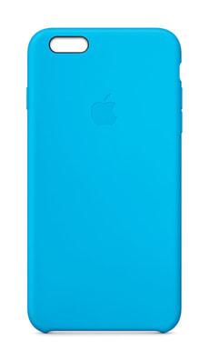 iPhone 6 Plus Silicon Case Blue
