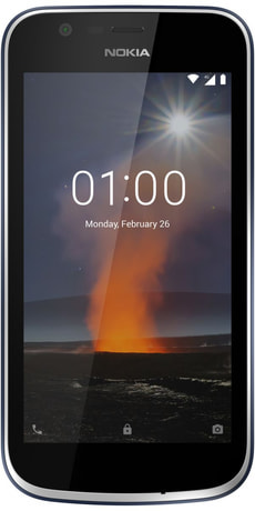 Budget Phone 83 Nokia 1 Dual SIM 8 GB Dark Blue