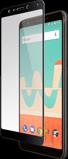Display-Schutzglas Printed Black Frame transparent