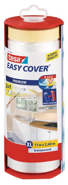 Easy Cover® PREMIUM Film XL, gefüllter Abroller 17m:2600mm