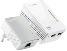 TP-Link TL-WPA4220KIT 2-Port-AV500-WLAN-Powerline-Extender KIT
