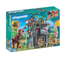 Playmobil Basecamp mit T-Rex 9429