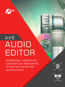 AVS Audio Editor incl. Activation-Key PC