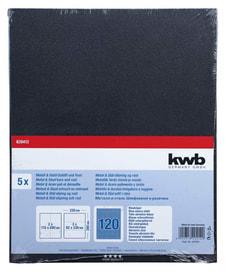 Schleifbogen Blauköper K 120, 5 Stk.