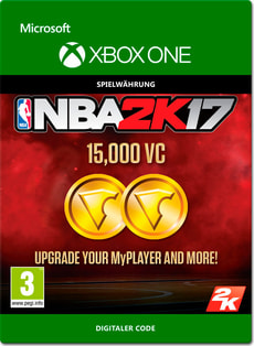 Xbox One - NBA 2K17: 15'000 VC