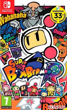 Switch - Super Bomberman R NX