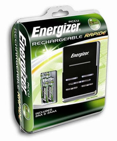 L-M-Energizer Rapide Charger inkl. 4 Ak