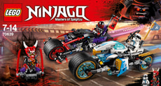 Lego Ninjago 70639 Strassenrennen