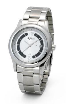 L- s.Oliver EASYGOING argenté montre