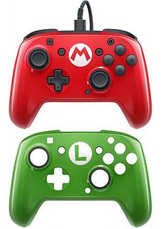 Faceoff Deluxe Controller Mario