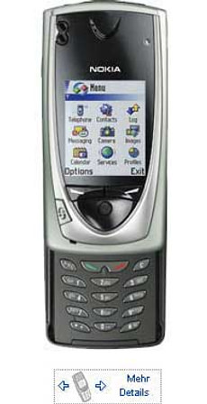 GSM NOKIA 7650 (D/F/E)