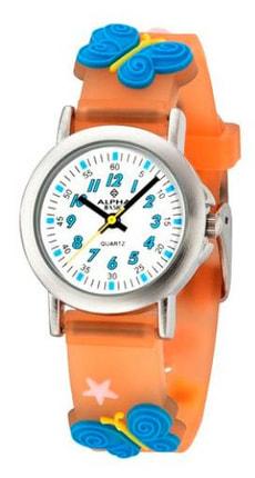 AB Kids Schmetterling orange Armbanduhr
