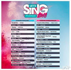 NSW - Let's Sing 2018 Hits français et internationaux F
