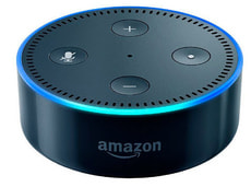 Echo Dot 2. Generation, nero