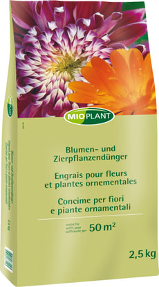 Blumendünger - und Zierpflanzendünger, 2.5 kg
