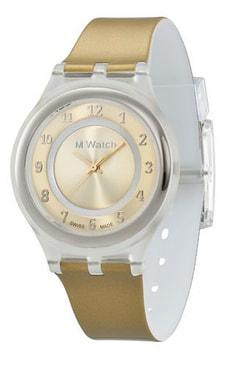SLIM doré montre