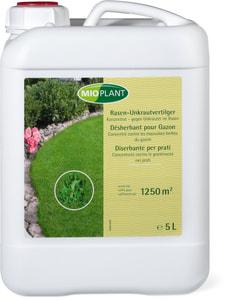 Désherbant pour Gazon Concentré contre les mauvaises herbes du gazon, 5 L