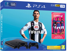 PlayStation 4 Slim 1TB FIFA 19 Bundle