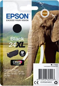 T24XL Tintenpatrone schwarz