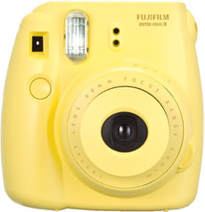 Instax Mini 8  giallo