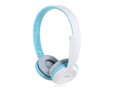 L-Rapoo Wireless Stereo Headset Blue H80
