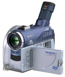 SONY DCR-DVD202E