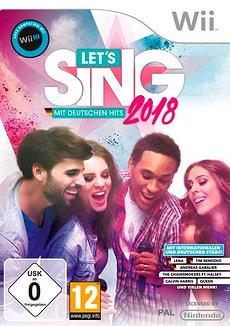 Wii - Let's Sing 2018 mit Deutschen Hits