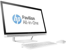 HP Pavilion 27-a120nz All in One weiss