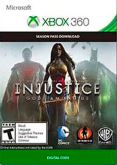 Xbox 360 -Injustice: Gods Among Us Season Pass