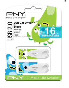 N1 16GB USB Sticks Duo