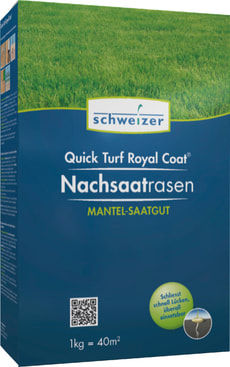 Quick - Turf Royal Coat Nachsaatrasen, 1 kg
