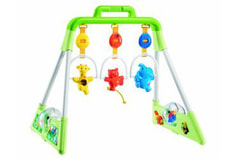 02/08 CHICCO BABY GYM DE LUXE