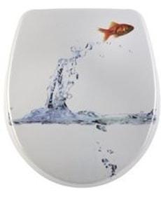 WC-Sitz Nice Jumping Fish