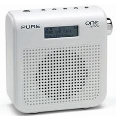 One mini blanc DAB / FM Radio