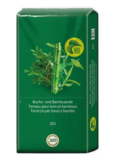 Buchs- und Bambuserde, 20 l