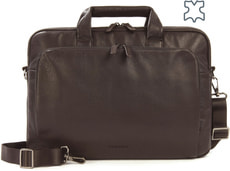 "One Premium Slim - Bag per MacBook Pro 15"" - marrone"