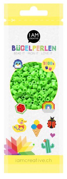Perles à repasser vert clair 1'000 pcs.