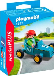 Playmobil Special Plus Enfant avec kart 5382