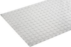 Riffelblech 1.5 x 600 mm blank 1 m